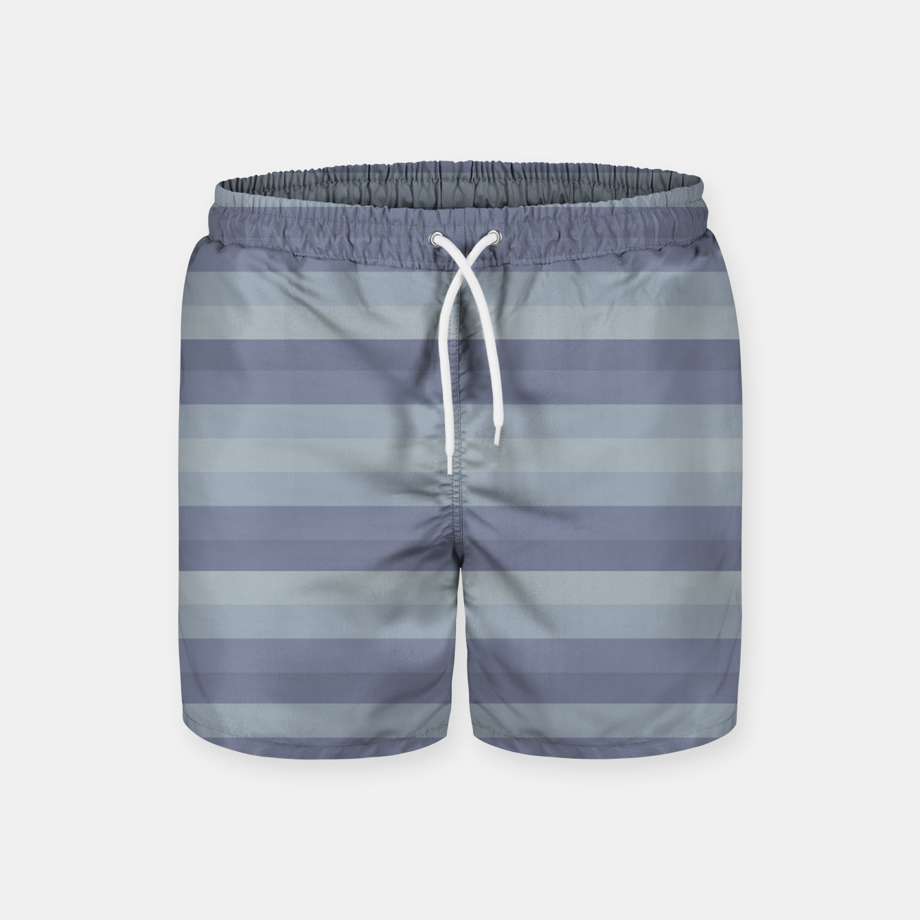 Image of Linear Cold Print Design Swim Shorts - Live Heroes