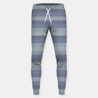 Thumbnail image of Linear Cold Print Design Sweatpants, Live Heroes