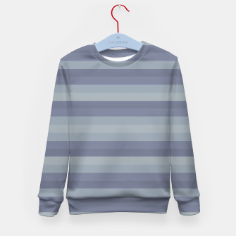 Linear Cold Print Design Kid's sweater thumbnail image