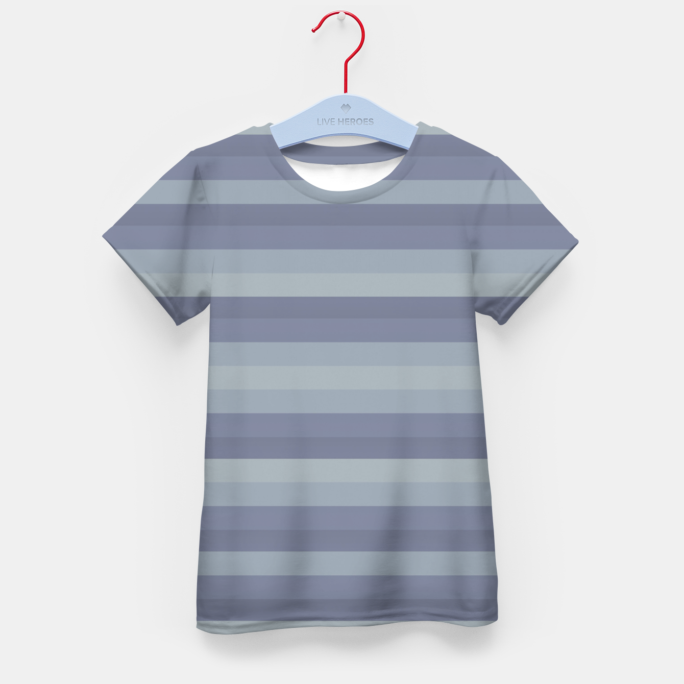 Image of Linear Cold Print Design Kid's t-shirt - Live Heroes
