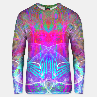 Thumbnail image of The Ice Queen's Thawing (Spring Visionary Fantasy Art) Unisex sweater, Live Heroes