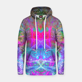 Thumbnail image of The Ice Queen's Thawing (Spring Visionary Fantasy Art) Hoodie, Live Heroes