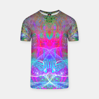 Thumbnail image of The Ice Queen's Thawing (Spring Visionary Fantasy Art) T-shirt, Live Heroes