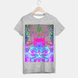 Miniaturka The Ice Queen's Thawing (Spring Visionary Fantasy Art) T-shirt regular, Live Heroes