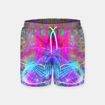 Thumbnail image of The Ice Queen's Thawing (Spring Visionary Fantasy Art) Swim Shorts, Live Heroes