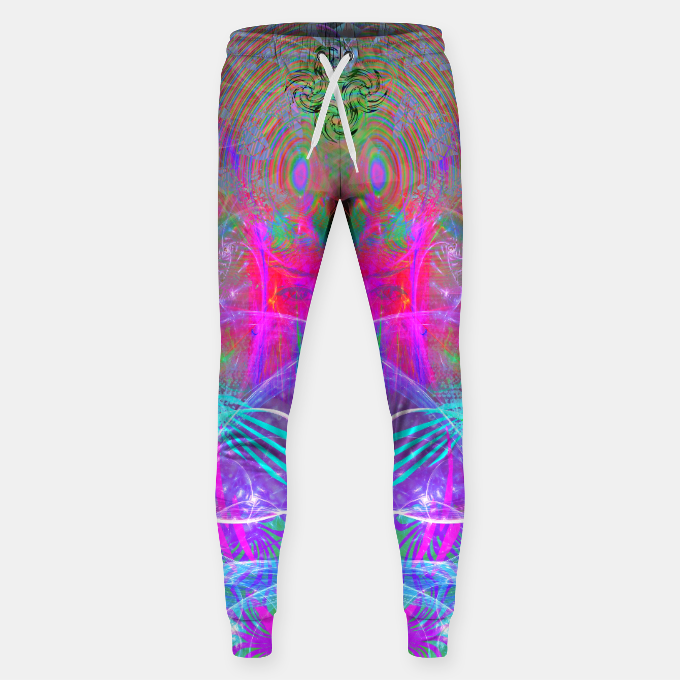Image of The Ice Queen's Thawing (Spring Visionary Fantasy Art) Sweatpants - Live Heroes