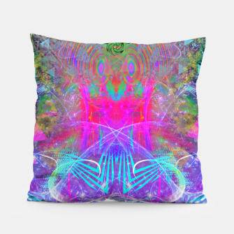 Thumbnail image of The Ice Queen's Thawing (Spring Visionary Fantasy Art) Pillow, Live Heroes