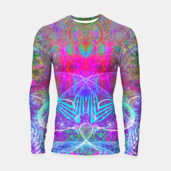 Thumbnail image of The Ice Queen's Thawing (Spring Visionary Fantasy Art) Longsleeve rashguard , Live Heroes