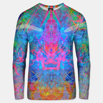Ether Soul (Abstract, Psychedelic, Visionary, Fantasy Art) Unisex sweater thumbnail image