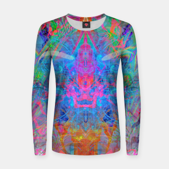 Ether Soul (Abstract, Psychedelic, Visionary, Fantasy Art) Women sweater thumbnail image