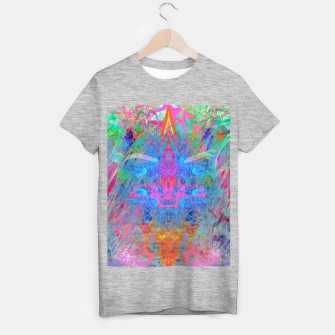 Miniaturka Ether Soul (Abstract, Psychedelic, Visionary, Fantasy Art) T-shirt regular, Live Heroes