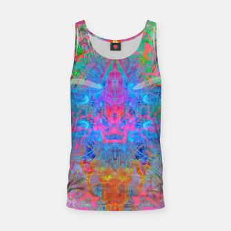 Miniaturka Ether Soul (Abstract, Psychedelic, Visionary, Fantasy Art) Tank Top, Live Heroes