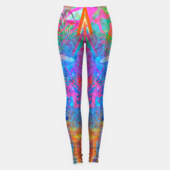Ether Soul (Abstract, Psychedelic, Visionary, Fantasy Art) Leggings thumbnail image