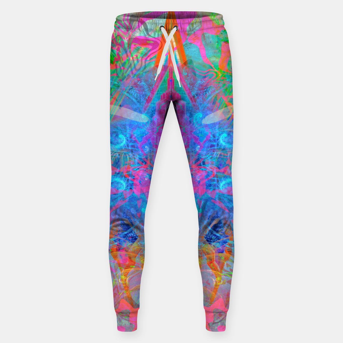 Image of Ether Soul (Abstract, Psychedelic, Visionary, Fantasy Art) Sweatpants - Live Heroes