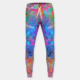 Miniaturka Ether Soul (Abstract, Psychedelic, Visionary, Fantasy Art) Sweatpants, Live Heroes