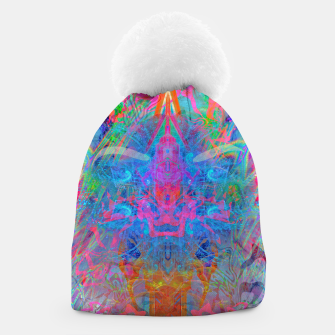 Ether Soul (Abstract, Psychedelic, Visionary, Fantasy Art) Beanie thumbnail image