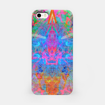 Ether Soul (Abstract, Psychedelic, Visionary, Fantasy Art) iPhone Case thumbnail image