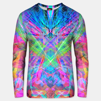 Miniatur Mind Streak (Visionary, Psychedelic, Trippy, Colorful, Symmetrical Unisex sweater, Live Heroes