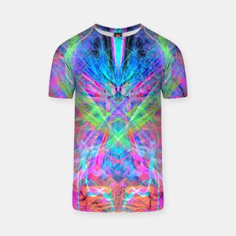 Miniaturka Mind Streak (Visionary, Psychedelic, Trippy, Colorful, Symmetrical T-shirt, Live Heroes