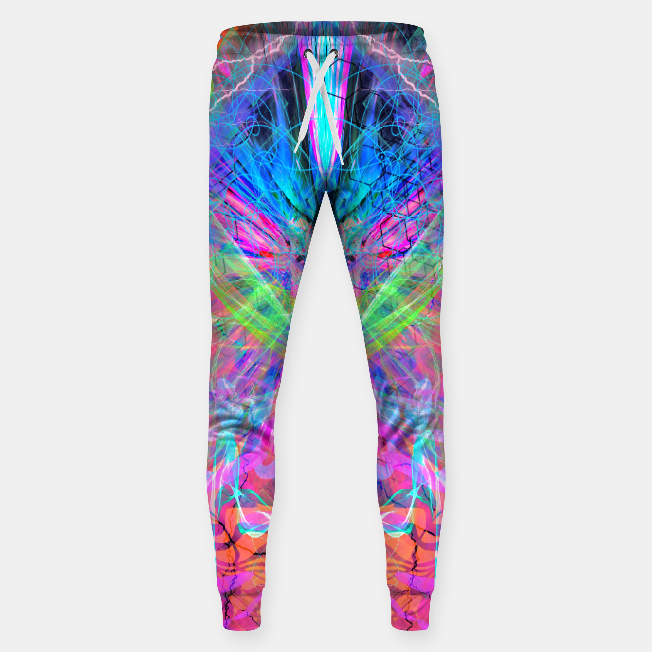 Image of Mind Streak (Visionary, Psychedelic, Trippy, Colorful, Symmetrical Sweatpants - Live Heroes