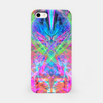 Miniatur Mind Streak (Visionary, Psychedelic, Trippy, Colorful, Symmetrical iPhone Case, Live Heroes