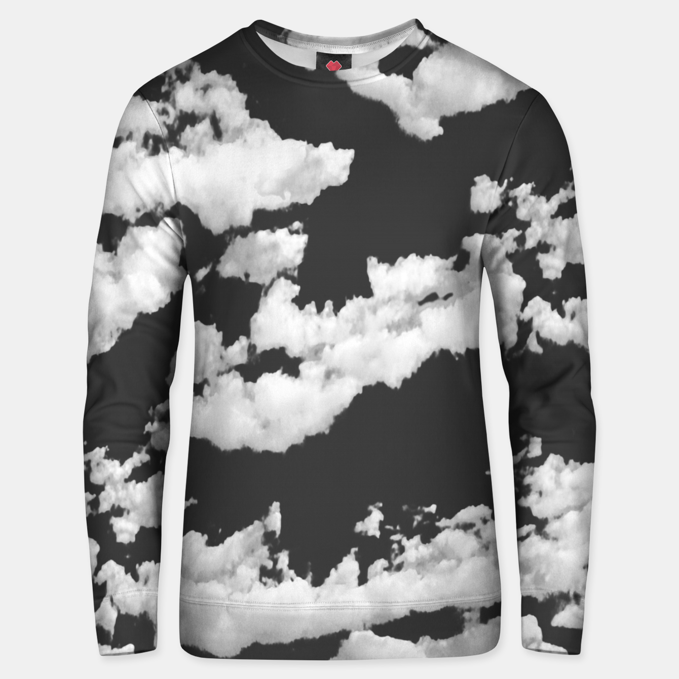 Image of Cumulus Abstract Design Unisex sweater - Live Heroes