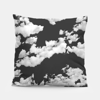 Thumbnail image of Cumulus Abstract Design Pillow, Live Heroes