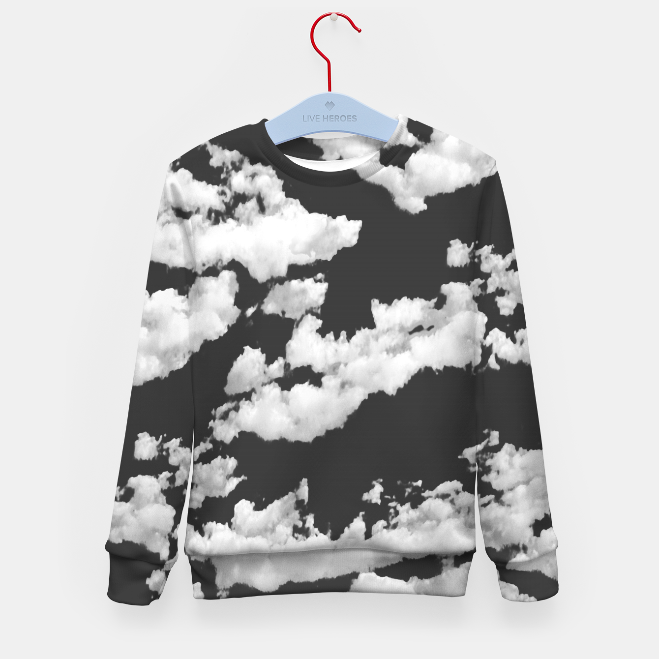 Image of Cumulus Abstract Design Kid's sweater - Live Heroes