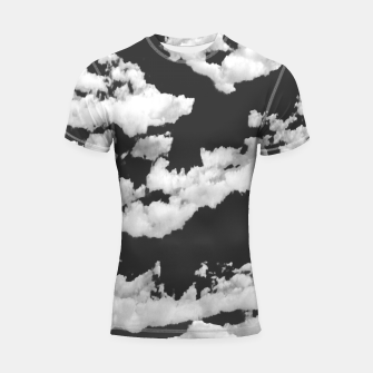 Thumbnail image of Cumulus Abstract Design Shortsleeve rashguard, Live Heroes