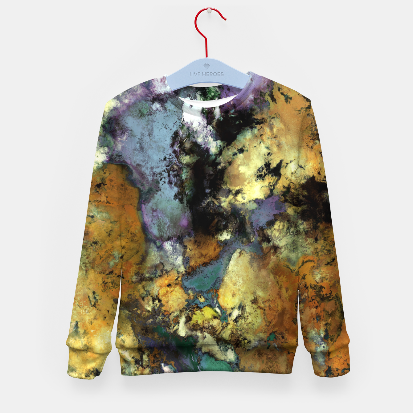 Image of Carve Kid's sweater - Live Heroes