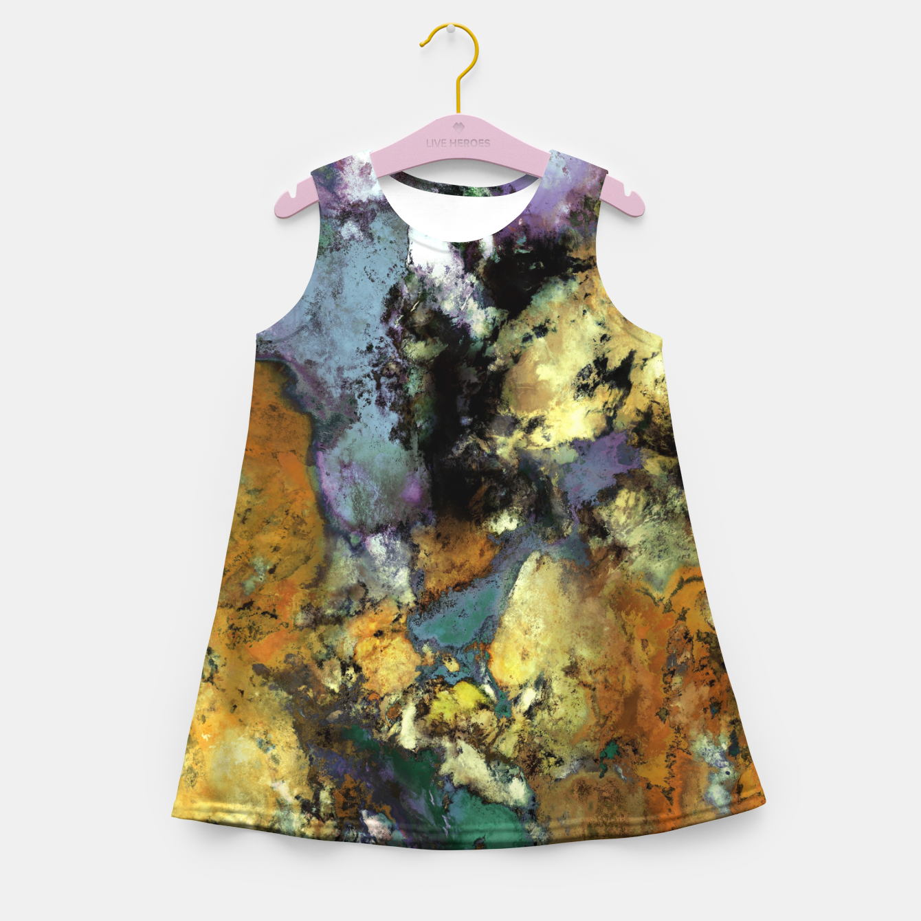 Image of Carve Girl's summer dress - Live Heroes