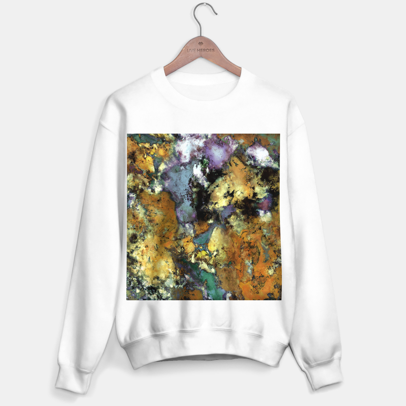 Image of Carve Sweater regular - Live Heroes