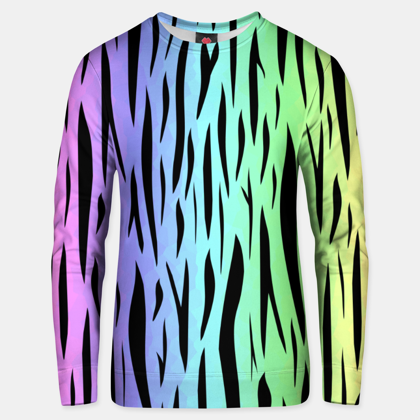 Image of Rainbow Tiger Stripes Unisex sweater - Live Heroes