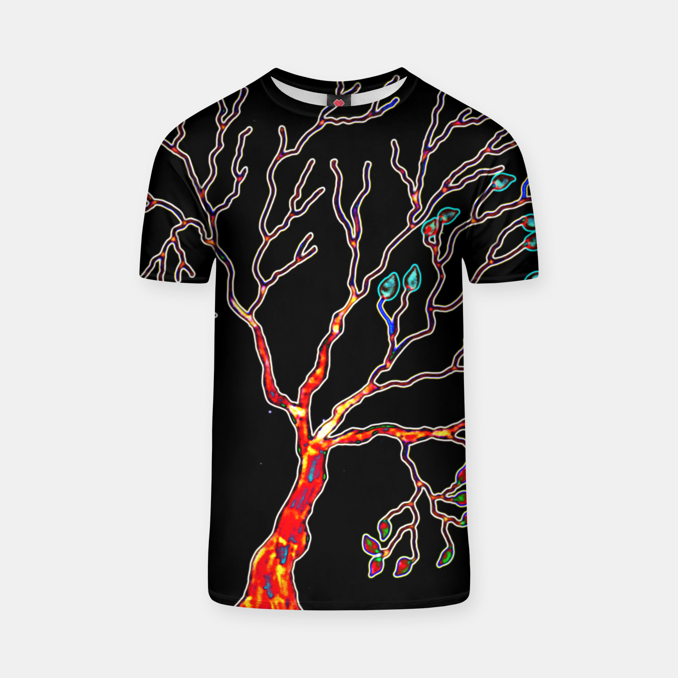 Image of tree t shirt - Live Heroes