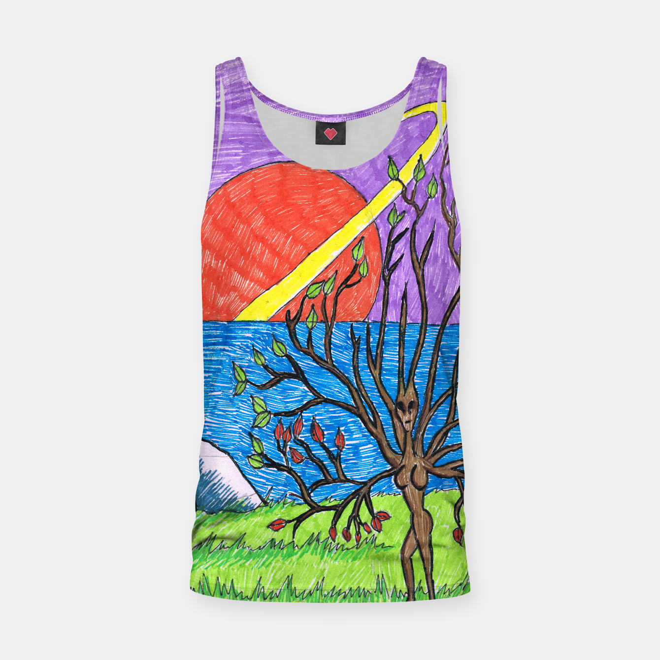 Image of Dreamscape tank top - Live Heroes