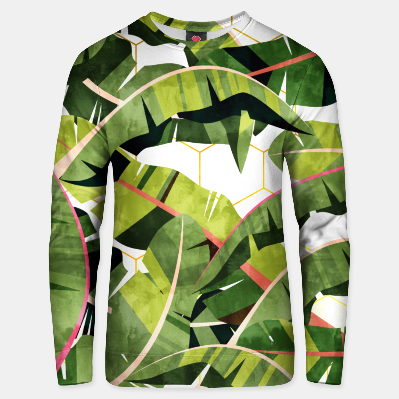 Zdjęcie Banana Leaf Salad With Garlic Butter Dressing Unisex sweater - Live Heroes