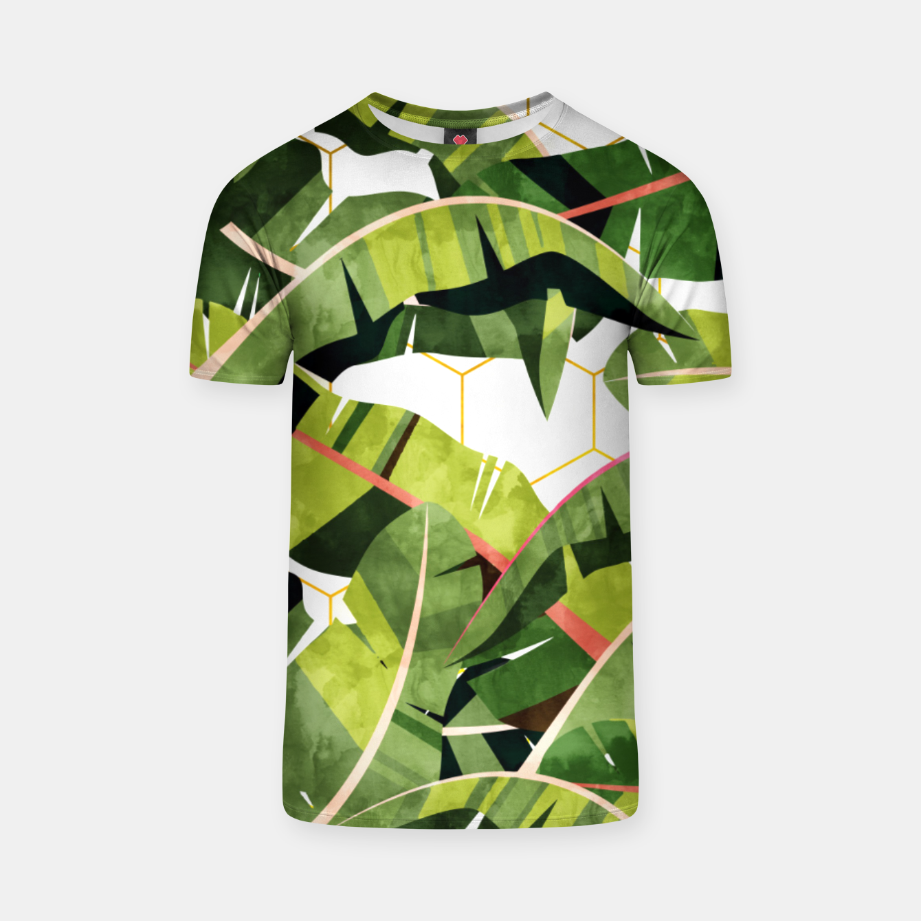 Image of Banana Leaf Salad With Garlic Butter Dressing T-shirt - Live Heroes