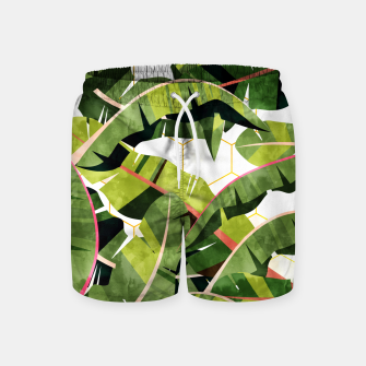 Banana Leaf Salad With Garlic Butter Dressing Swim Shorts thumbnail image
