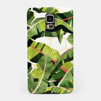 Banana Leaf Salad With Garlic Butter Dressing Samsung Case thumbnail image
