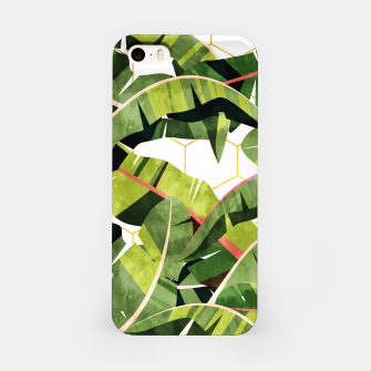 Banana Leaf Salad With Garlic Butter Dressing iPhone Case thumbnail image