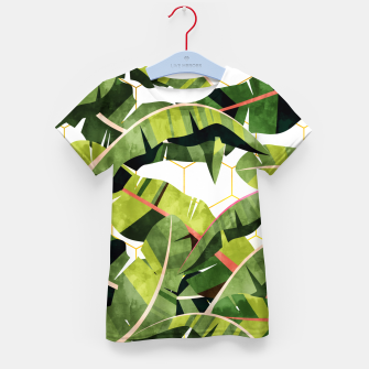 Banana Leaf Salad With Garlic Butter Dressing Kid's t-shirt thumbnail image