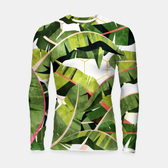 Banana Leaf Salad With Garlic Butter Dressing Longsleeve rashguard  thumbnail image