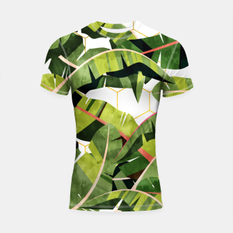Banana Leaf Salad With Garlic Butter Dressing Shortsleeve rashguard thumbnail image