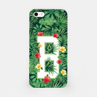 Capital Letter B Alphabet Monogram Initial Flower Gardener iPhone Case thumbnail image