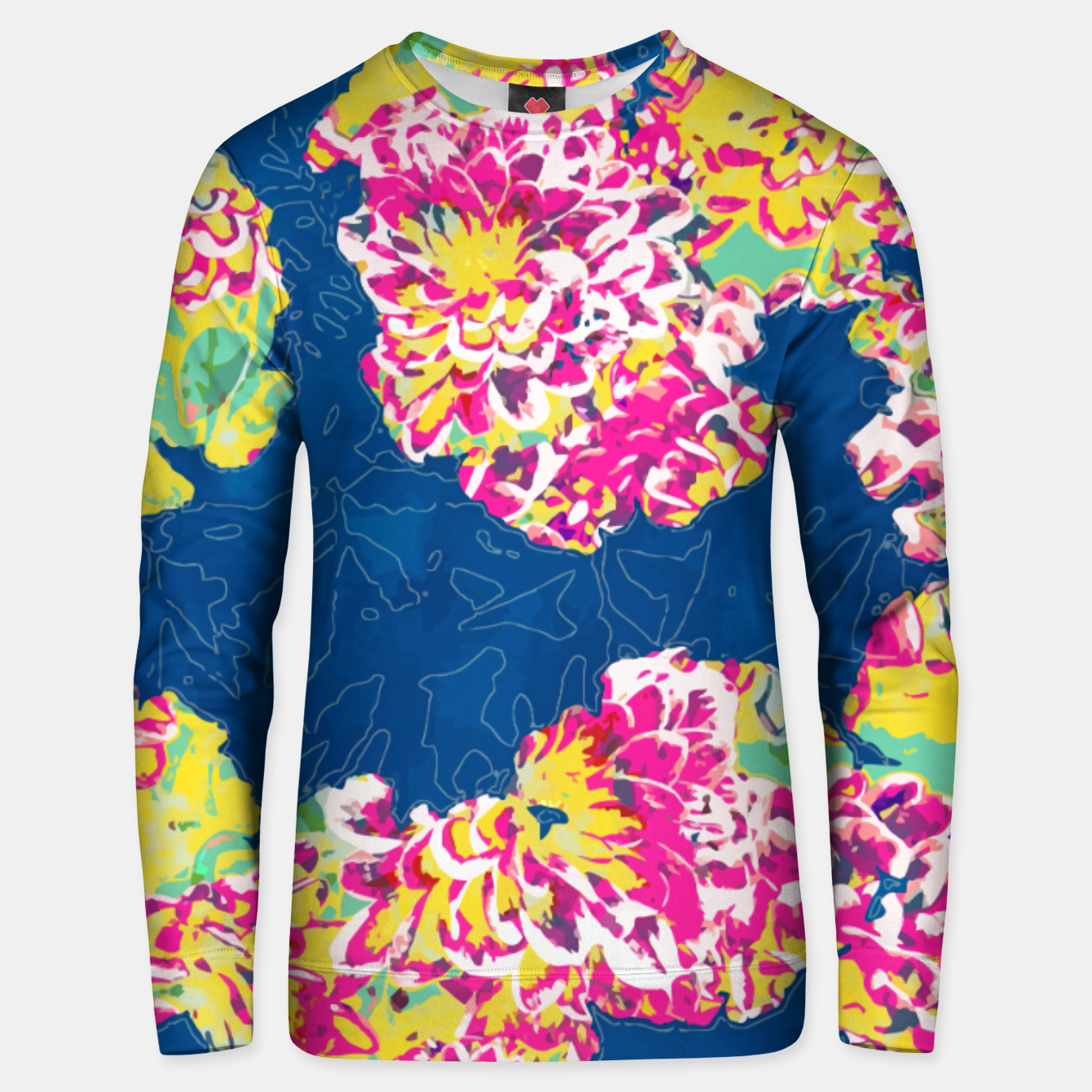 Image of The soul becomes dyed with the color of its thoughts Unisex sweater - Live Heroes