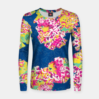 The soul becomes dyed with the color of its thoughts Women sweater thumbnail image