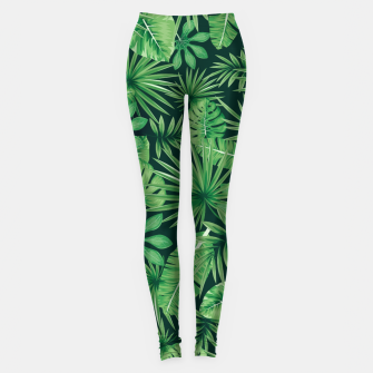 Capital Letter D Alphabet Monogram Initial Flower Gardener Leggings thumbnail image