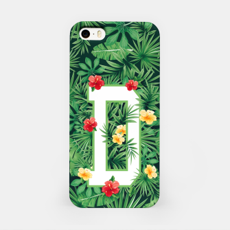 Capital Letter D Alphabet Monogram Initial Flower Gardener iPhone Case thumbnail image