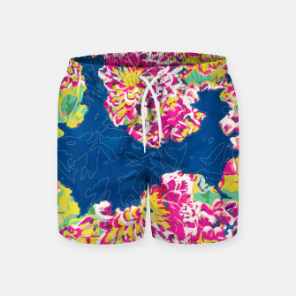 The soul becomes dyed with the color of its thoughts Swim Shorts thumbnail image