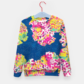 The soul becomes dyed with the color of its thoughts Kid's sweater thumbnail image